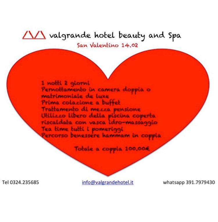 Proposta di San Valentino  Valentine's day package #sanvalentino #valentinesdaygift #amore #relax #hotel #booknow #buynow #lagomaggiore #hotel #14febbraio #innamorati #instalove #gift #regalo #reisen #weekendvibes #valgrandehotel #bewhoyouare #vld