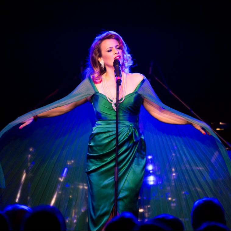 #FBF to the emerald glamour of the incomparable @thealimcgregor at #AdCabFest 2015! ✨   📸 Claude Raschella