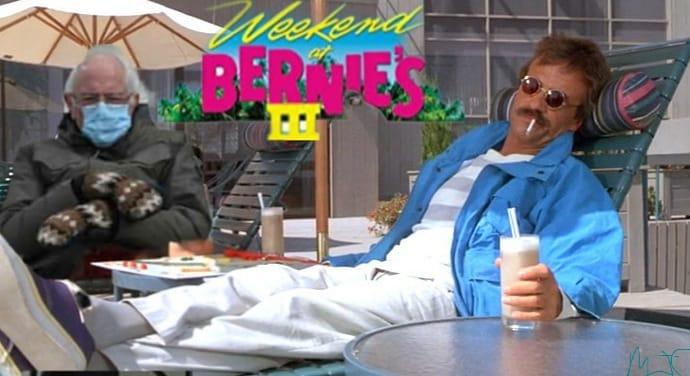 It's happening!!! BERNIE AND BERNIE are hanging on the weekend!!! #BernieSanders #Berniememes #BernieSandersMittens #Bernie #weekendatbernies #InaugurationDay #Inauguration #FeelTheBern #BarackObama #GodBlessAmerica
