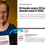 Image for the Tweet beginning: 💥 Our #CX2Book tops Qualtrics'