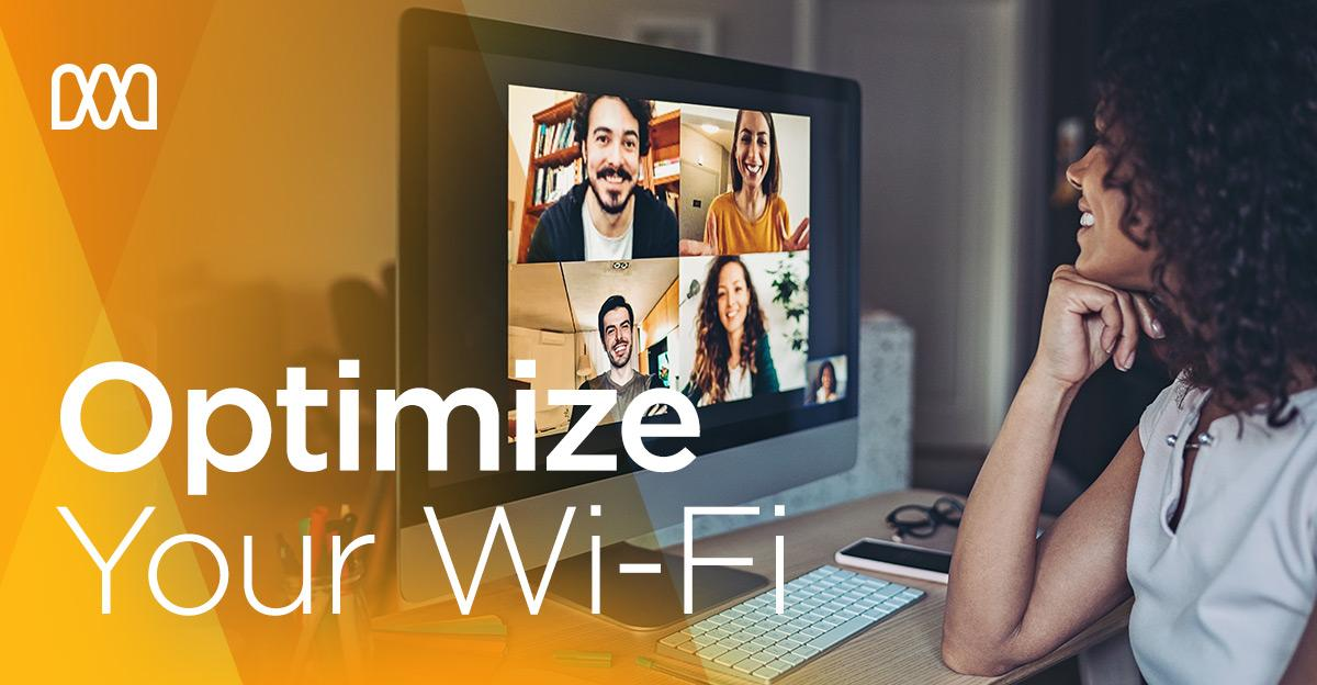 A tip to optimize your #WiFi signal: If you're not using the Wi-Fi on a device, disconnect it. Older devices especially can slow down the speeds on all your devices. 📱 💻 Want more internet tips? 👉🏽 https://t.co/p9A3IExXgG. https://t.co/Q2lAckcPV4
