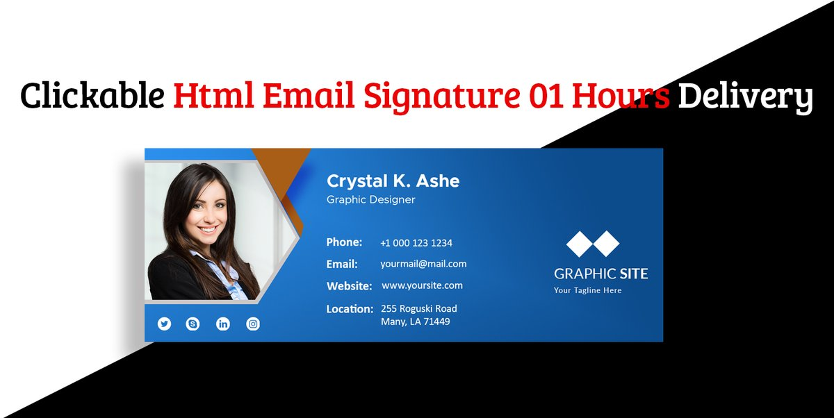 Clickable #Html #EmailSignature ====== Order Link:  #Verzuz #berniememes2021 #SouthernCharm #ChrisBrown   #CriticalRoleSpoilers #GraphicDesign #Gmail #Yahoomail #emailmarketing #outlooksignature #Yahoomailsignature #CONTACT #businessemail