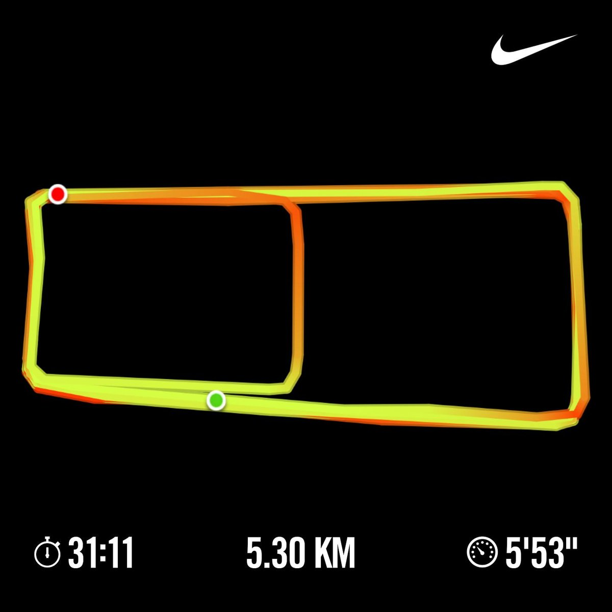 5.30km completed.  We mooooveee.   #naijaFittest #runner #nikeplus #fitfam #strava #GoogleFit #itsAmarathon #ItsALifestyle #IamAccountable #yourturn   👌🏃♂️💪✅🇳🇬🔥✌