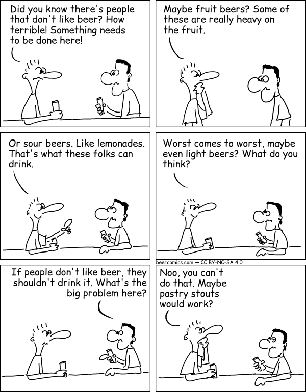 #beer #beerlover What do people that don't like beer drink? https://t.co/IoJ5mZQ2Bi