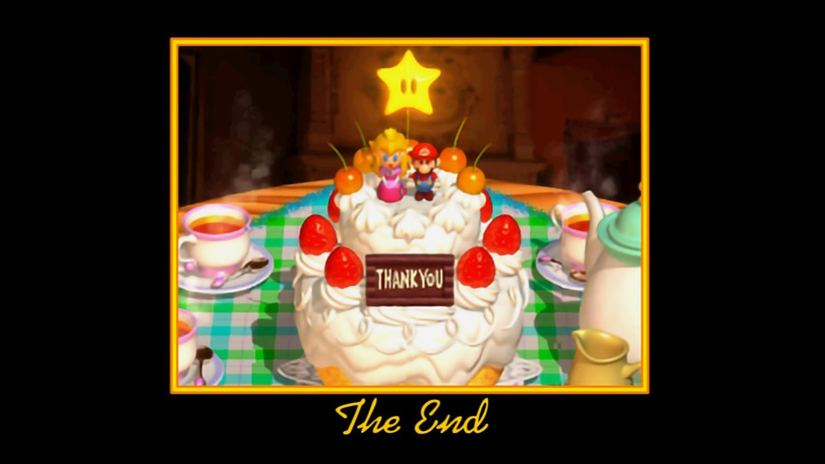 Took awhile to get around to it but 3D all stars is 100% complete #SuperMario3DAllStars