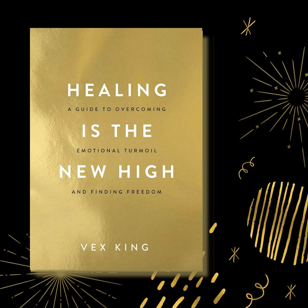 Pre-order link for Vex King's latest book 'Healing Is The New High' is out now! @VexKing  Pre-order you copy today!!!!  . . . . . #hayhouseindia #vexkingquotes #vexking #newrelease #preorder #HealingIsTheNewHigh #VexKingBook  #selfhelpbooks #findfreedom