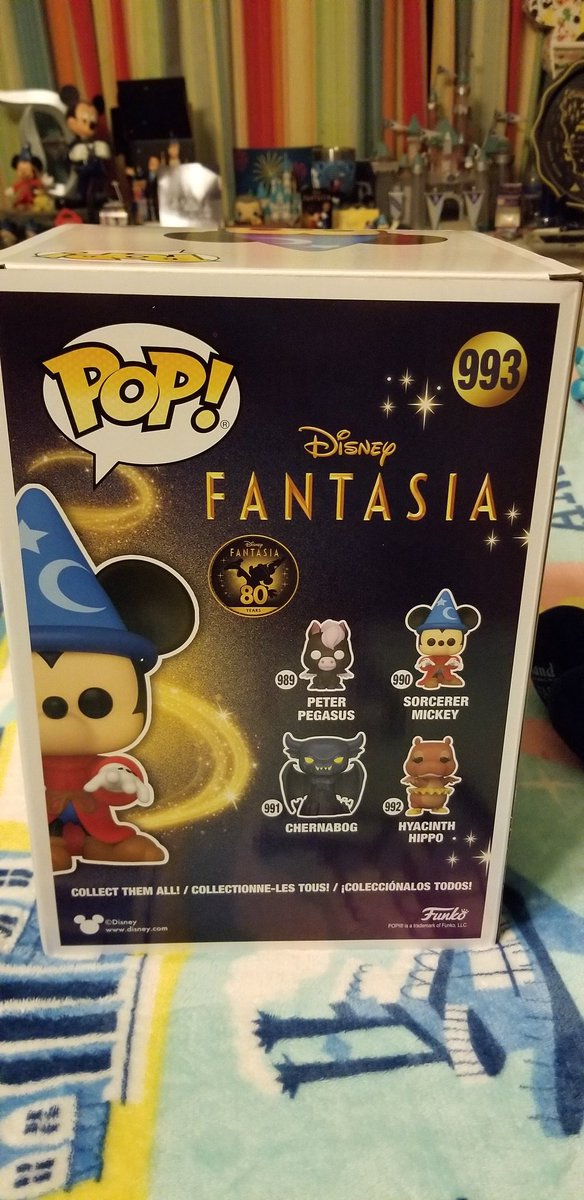 And It's Part Of The Fantasia 80th Anniversary Collection From Funko! #Walmart #SorcererMickey  #TheSorcerersApprentice  #Fantasia #Fantasia1940  #Fantasia80 #Fantasia80thAnniversary #MickeyMouse #D23 #Funko #FunkoPop #WaltDisney  #Disney
