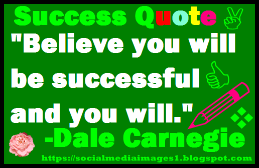 Hello guys! Welcome to great twitter @Twitter  Attached is the inspiring quote converted to pic by me. #ThursdayThoughts #ThursdayMotivation Believe you will be SUCCESSFUL and you will. By Dale Carnegie Thank you friends