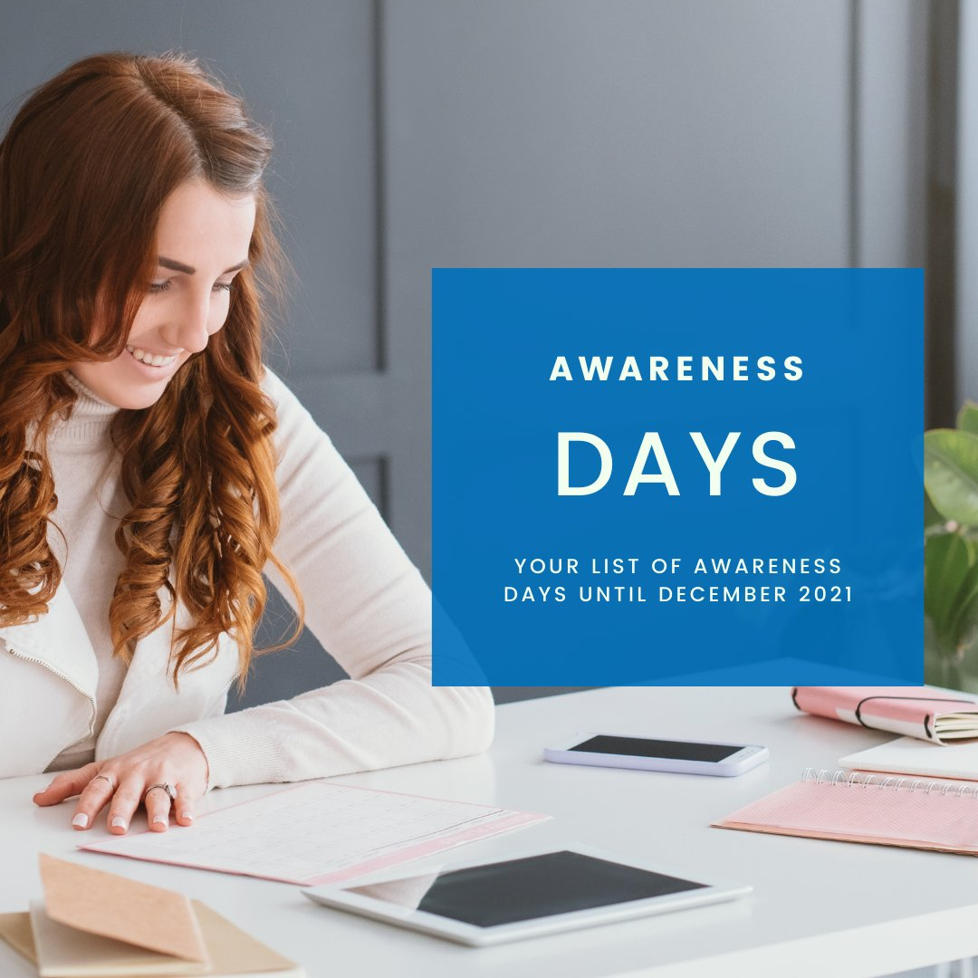 || AWARENESS DAYS TO MAXIMISE YOUR REACH IN 2021||  Access awareness dates you NEED to know about in 2021 with our bespoke catalogue specifically created for family focused businesses/bloggers.    #bloggerstribe #sbs #smallbusiness #businessmum #family