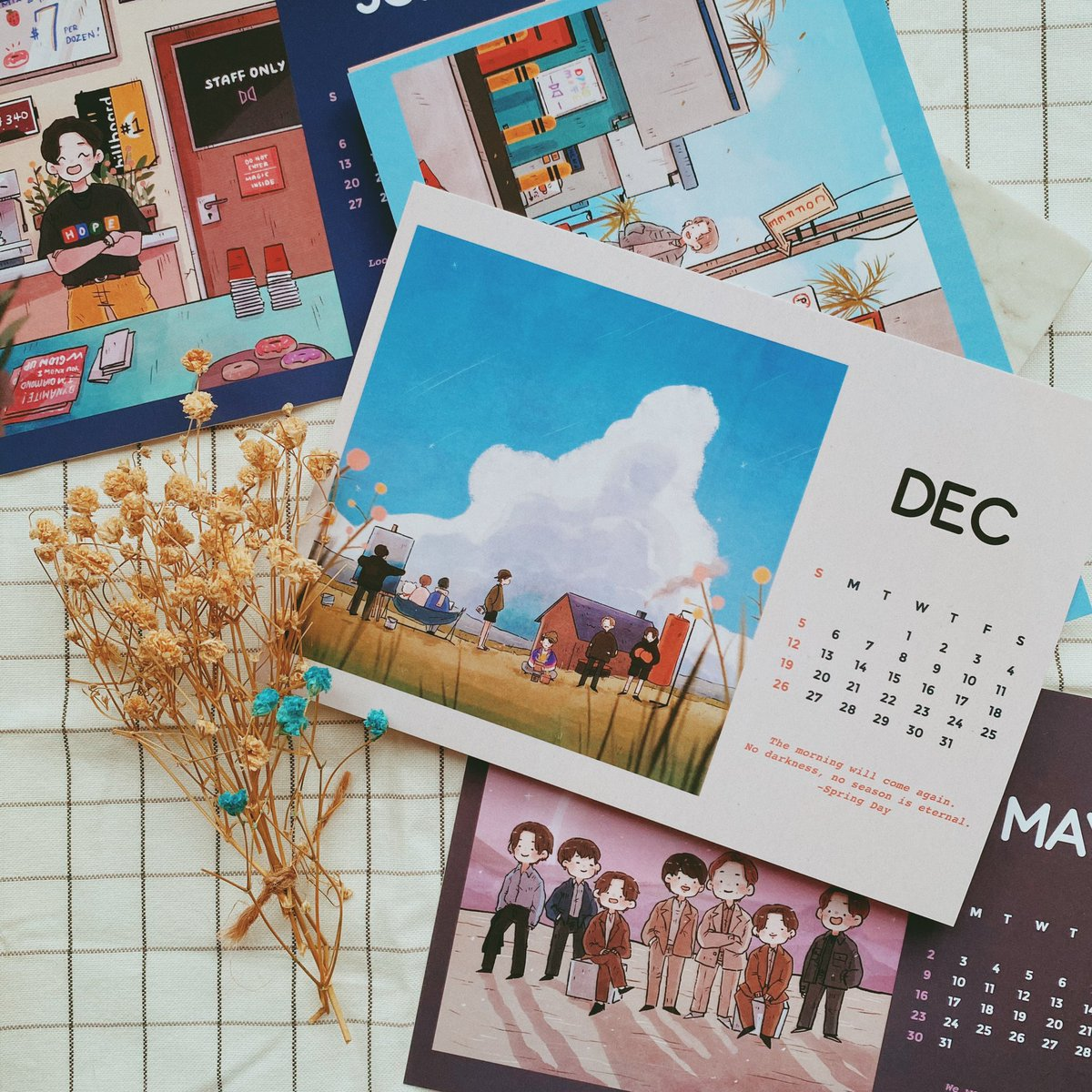 a little giveaway! 🌱 2021 Calendar: • 2 winners • Open to be mailed internationally • RT to enter (will be drawing two names with a retweet picker) • Ends 23:59GMT on Tuesday 27/01! ☀️ Looking for fic recs too so feel free to leave a link to a fic you enjoy! •◡•