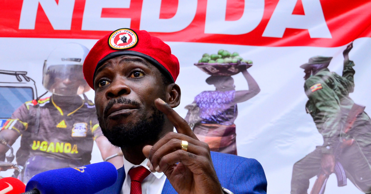 """As Ugandan President Museveni keeps his principal electoral opponent @HEBobiWine locked up under house arrest to prevent him from contesting the recently announced electoral """"results,"""" Wine files a complaint for arbitrary detention with the United Nations."""