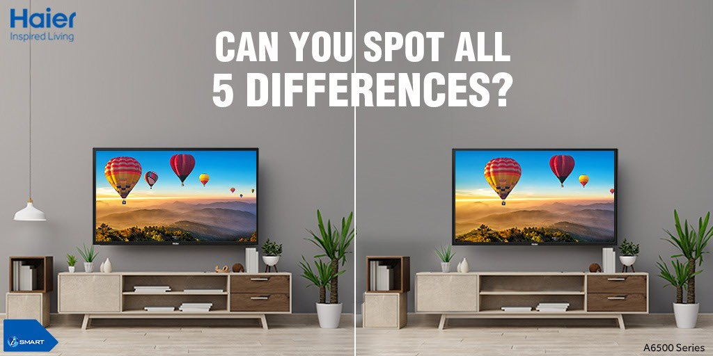 Are you ready to win some exciting goodies? Participate in the contest, & to be eligible to win, you must follow our Twitter handle and reply with all the differences that you spot. Don't forget to tag your friends to increase your chances of winning  #FindThemAll #InspiredLiving