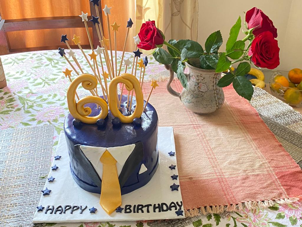 With the grace of almighty I turn 60 today and enter what I call the 'junior' senior citizens club. 😊 A small pooja was organised in the morning. Thank you in advance for your good wishes and blessings. 🙏🏽