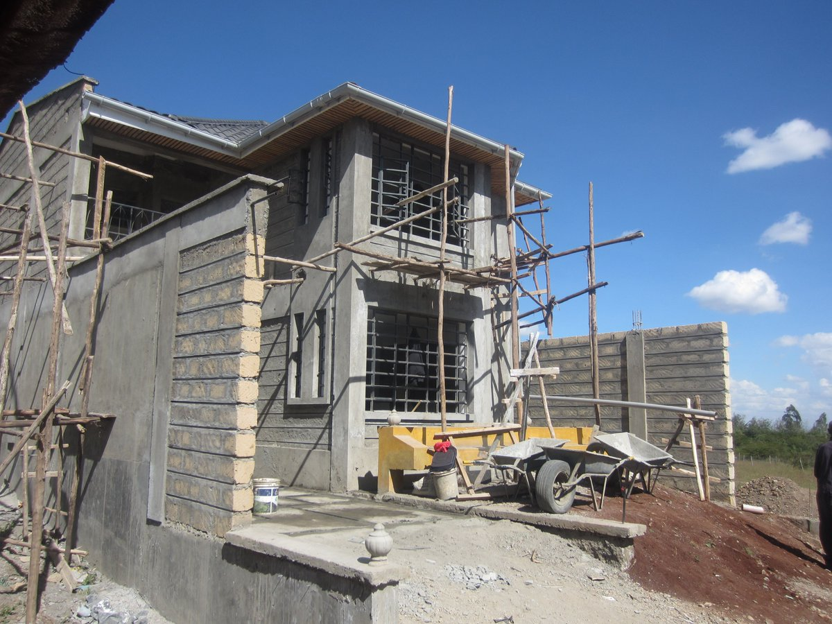 4Br standalone hse built in a modern style to suit your experience of an elegant #home,in the rural(ON COMPLETION STAGE). Located at Merisho,Kajiado CTY Price: Ksh 13.5 M Visit:. Call/Text 0713168502/0738311645. Tel.0202440445 e:info@hillsgaterealestate.com