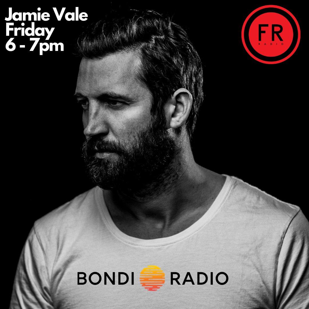 Jamie Vale on Bondi Radio 6 - 7pm Friday, Download the Free Bondi Radio App to listen or goto   #music #dj #party #dance #house #deephouse #bondiradio #bondibeach #sydney #radio #mix