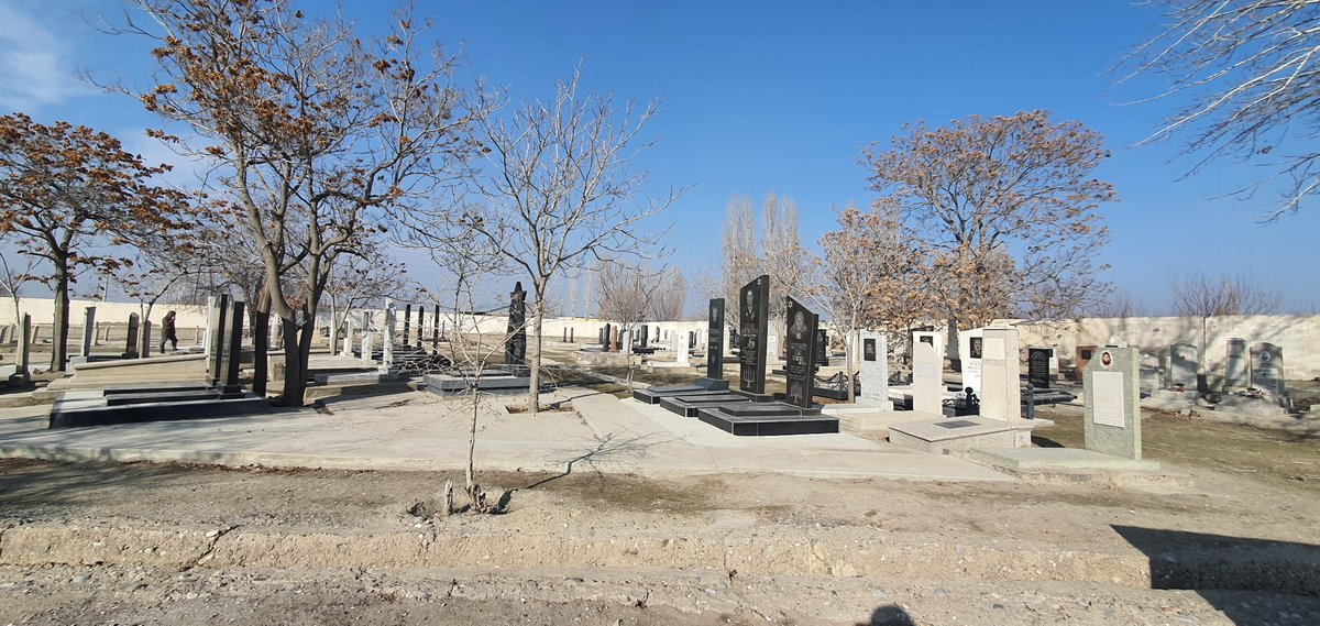 The first Jews settled in Khujand, #Tajikistan in the Middle Ages. This week, the city buried its beloved last Jew.