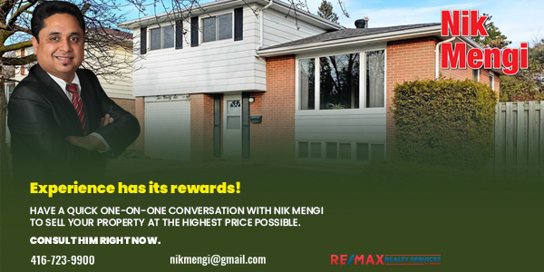 Nik Mengi is an expert for #sellingproperties in your area. He will walk you through the process and give the best advice on what will help your #home sell so that you make the maximum profit without wasting too much time, energy, and money. Read more: