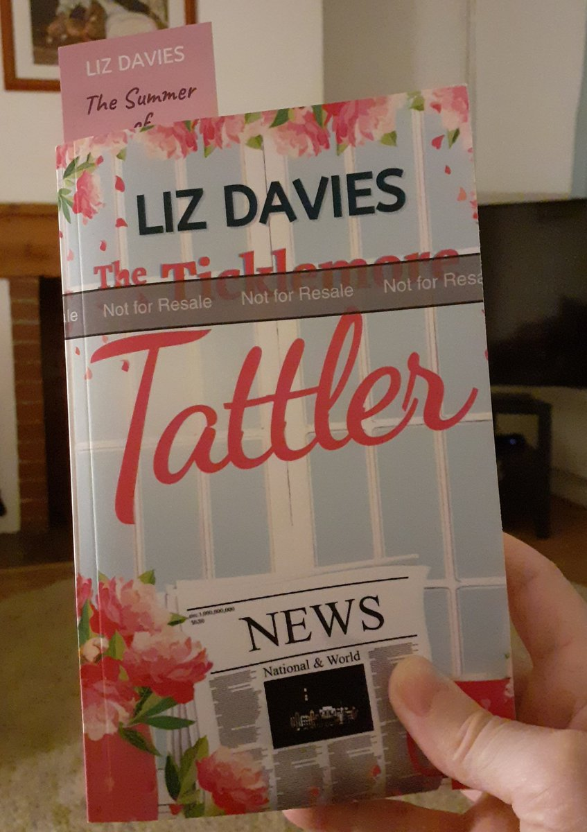Proof copy of The Ticklemore Tattler has arrived. Guess I know what I'll be doing today #amediting #writerslife https://t.co/AcqSvLK8r0