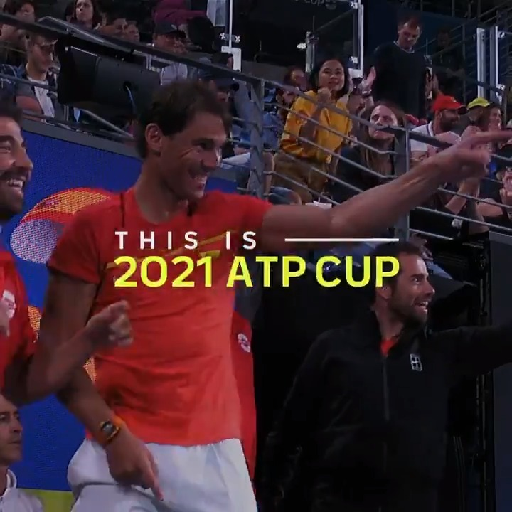 Replying to @ATPCup: Get ready...  The 2021 #ATPCup is on the way 🏆