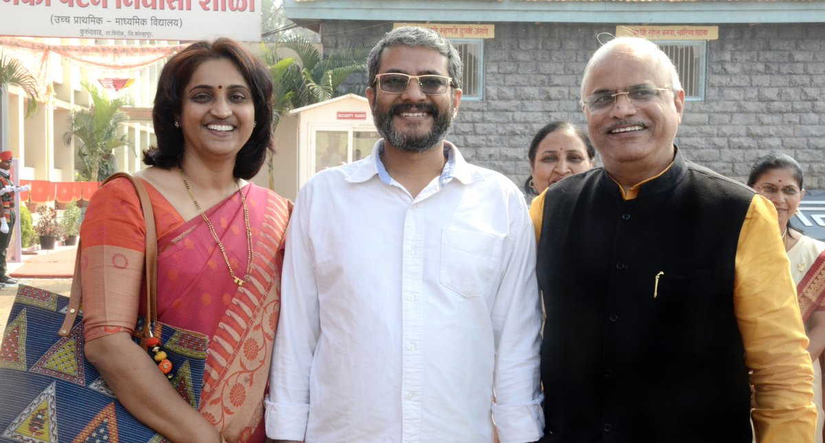 Recently at Sangli was pleasure meeting Rajiv and Sharduli Terwadkar who hav been working informally as Cultural Ambassadors of India in South Africa!Rajiv is Founder of Marathi Mandal SA and Intuthuko Arts n Crafts while Dr Sharduli is founder of Ayurveda Foundation, SA! https://t.co/sgNOIGdph6