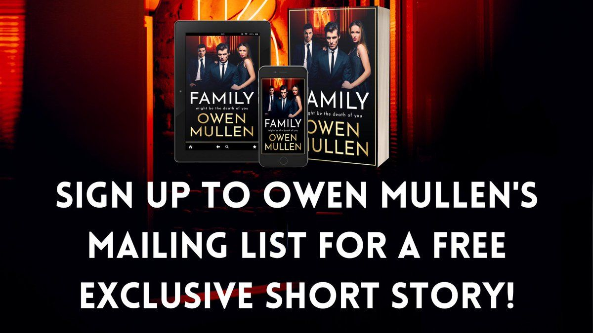 Calling all crime and thriller fans! 📚   Sign up to @OwenMullen6's mailing list to receive an exclusive, free short story - Girl In The Red Shirt!   Sign up here 👉