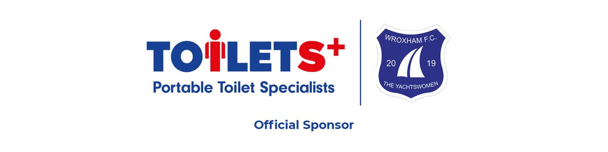 Toilets+ News📢 We're excited to announce our latest sponsorship of @WroxhamWomen FC!   We're proud to show our support, bring on the day we can spectate again in person at Trafford Park! Find out more here 👉⚽ #Toilets+ #Ahoy