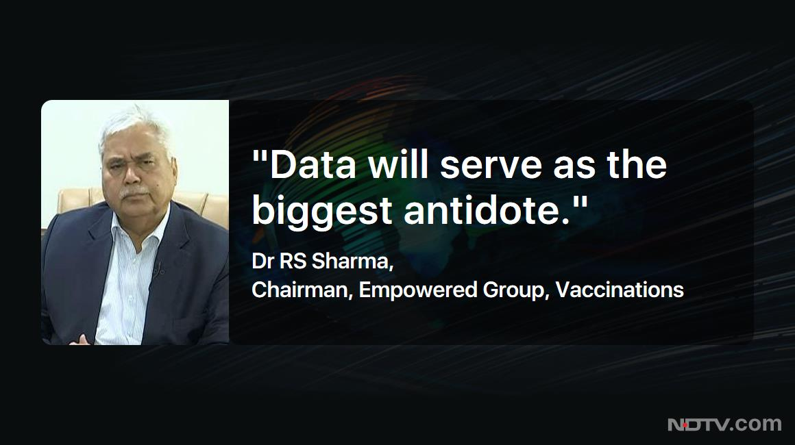 "#TheBigFight | ""#CoWIN is crucial to the vaccination drive"": Dr RS Sharma, Chairman, Empowered Group, Vaccinations  #NDTVExclusive"