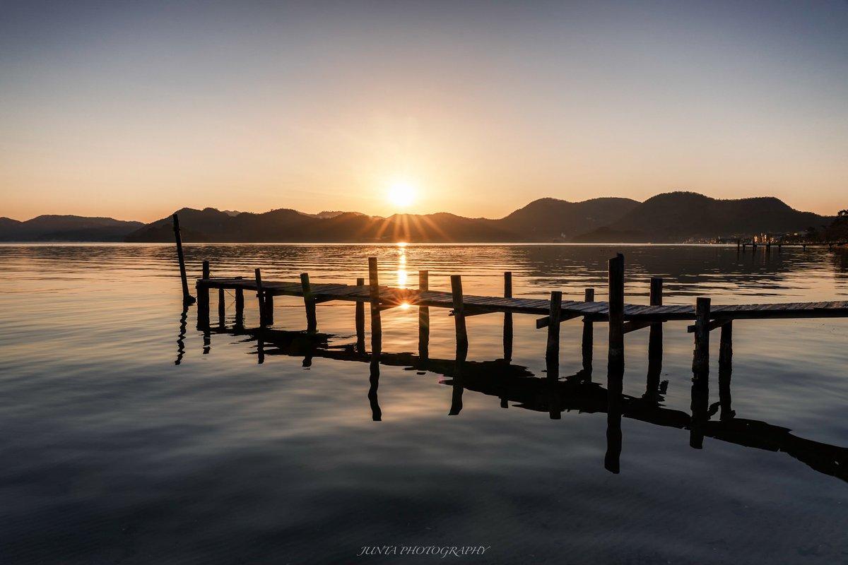 二つの太陽  #東京カメラ部 #reflection #メタルプリントフォトコン #久美浜湾 #sunset