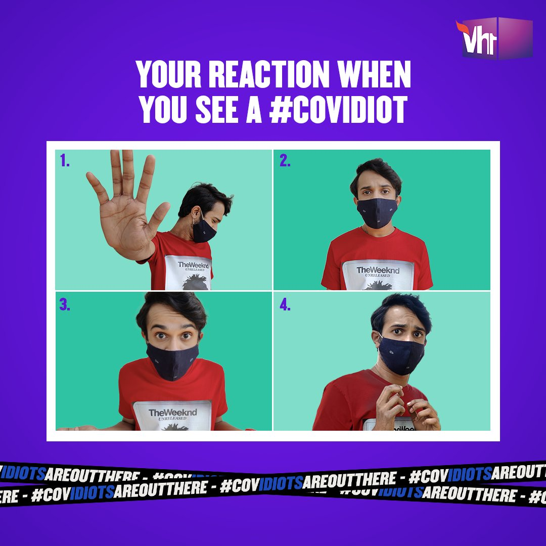 Hurry! Hit the comments with your reaction before #COVidiots catch you.    #COVidiotsAreOutThere #BadLuckBrian #Vh1India #GetWithIt
