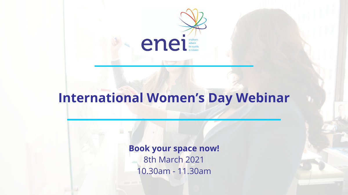 #InternationalWomensDay Webinar: Following this year's theme of #ChooseToChallenge, this will cover topics that will allow you and your #organisation challenge and call out #gender bias, #discrimination and #stereotypes. Book here: