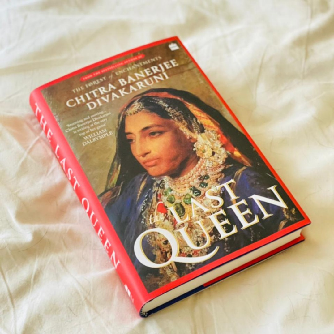 Those who say the future is female forgot about the feisty Jindan Kaur, who began shattering glass ceilings in the nineteenth century! Meet the OG warrior queen in @cdivakaruni's #TheLastQueen.  Share in the comments the name of a true warrior queen who inspires you. #BookTwitter