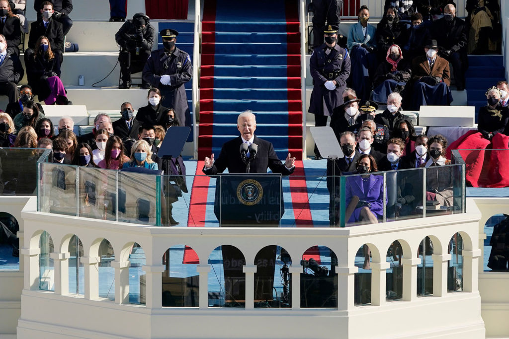 Biden's Inaugural Address may have lacked a strong central idea – but it struck the right tone  We asked @PhilipJCollins1, former speech writer to Tony Blair, to annotate the president's first speech:
