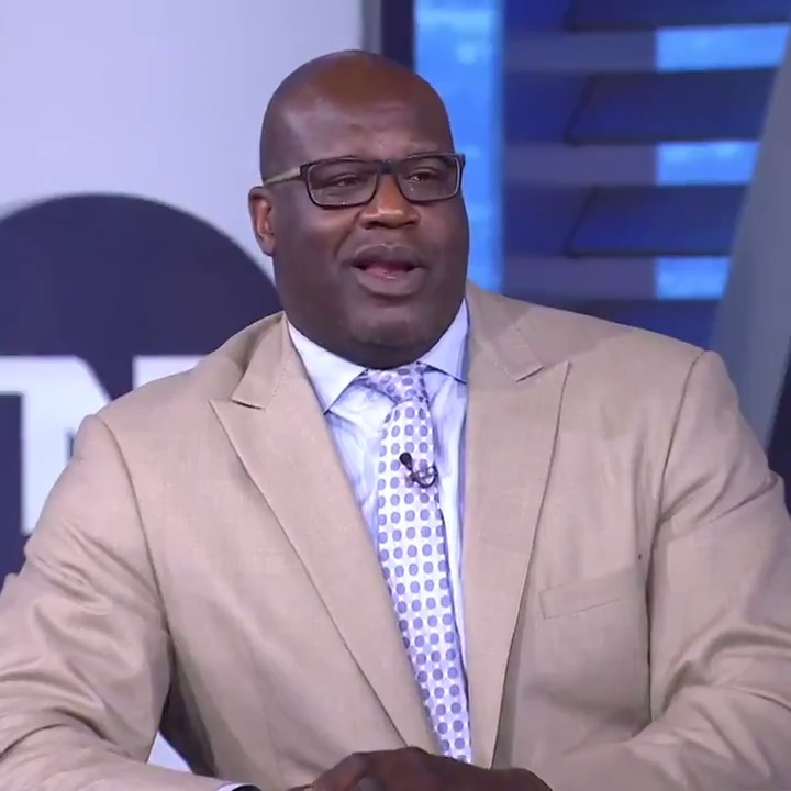 """""""You wouldn't even get in the game today."""" 😅😂  On the latest episode of Shaq vs. Chuck…"""