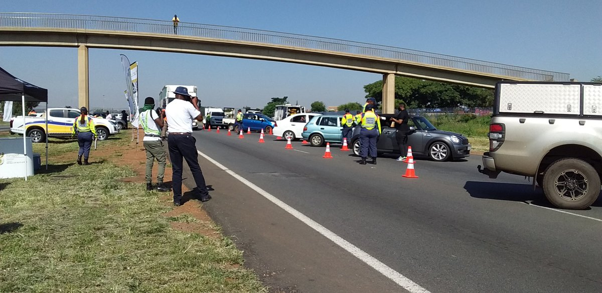 Today we are somewhere in Joburg awaiting the arrival of Transport Min.  @MbalulaFikile   to deliver the #Festiveseason Road Statistics for the year 2020.  Ensure that your car is roadworthy at all times and continue to follow #COVID19 protocols.  #StaySafe