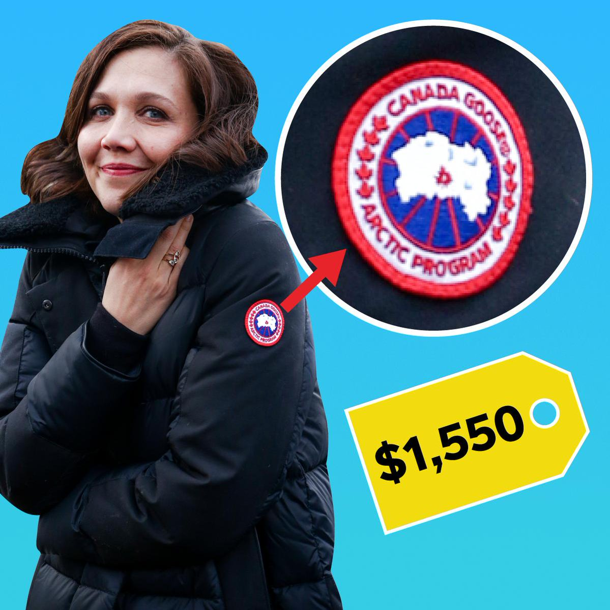 Image for the Tweet beginning: What do Canada Goose jackets