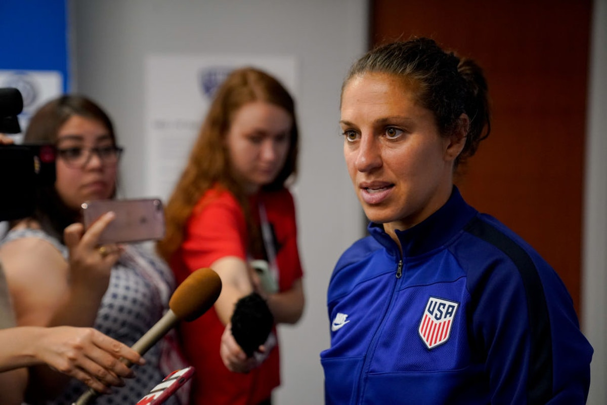 WATCH: Soccer Player Carli Lloyd Asked Why She Stayed Standing During Anthem