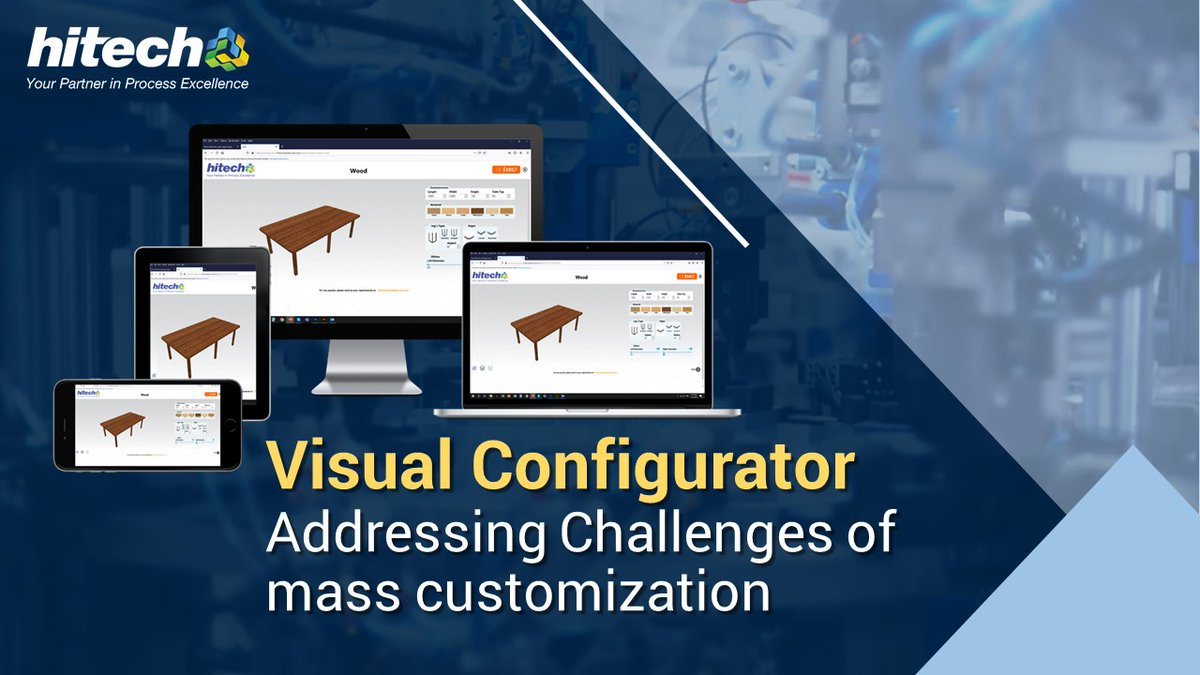 Experiencing business challenges with mass customized manufacturing? Learn more how an online 3D visual configurator can help you communicate easily with your customers.  https://t.co/YK9ifEN18I . #3dproductconfigurators #visualconfigurator #productconfigurator https://t.co/nfsZrKal29