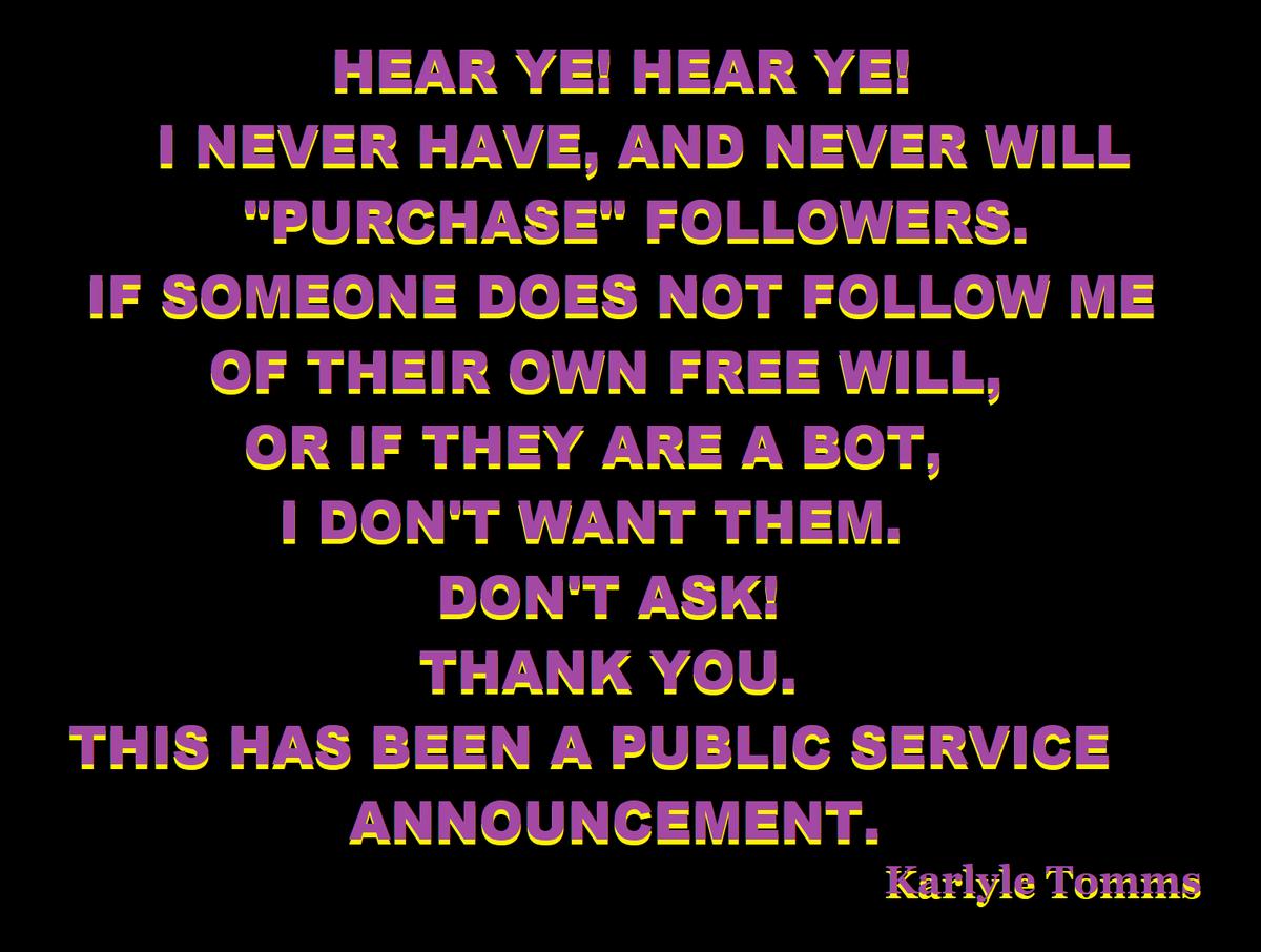 NOT GONNA DO IT! NO WAY! NO HOW!  #followback #followmenow