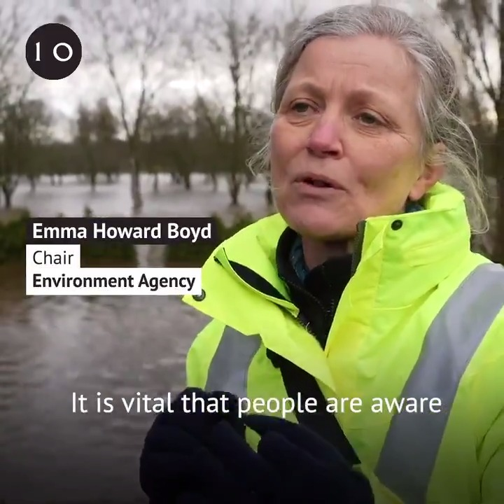 We spoke to @EnvAgency Chair @EmmaHowardBoyd about the simple steps you can take to protect yourself from flooding.  Sign up for flood alerts here: