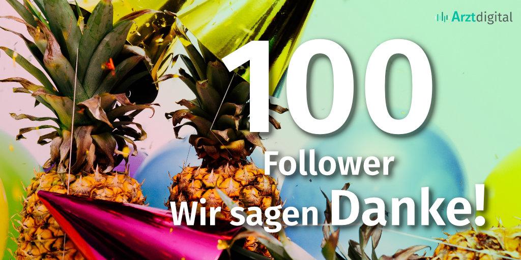 Dankeschön an alle 100 Follower 🎉🥳  #100follower #Follow #Arztdigital #Danke #Dankeschoen #Mercy #ThankYou #Thankful