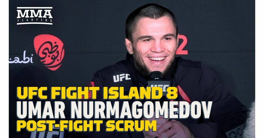 Video: Umar Nurmagomedov says UFC debut was not best performance, hopes Khabib returns   #UFCvegas14 #UFC255 #UFCFightnight #MMA #UFC https://t.co/PFlYddvOwV