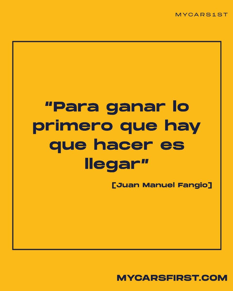 💪✨  #JuanManuelFangio #FrasesExtraordinarias #Motivation #Inspiracion