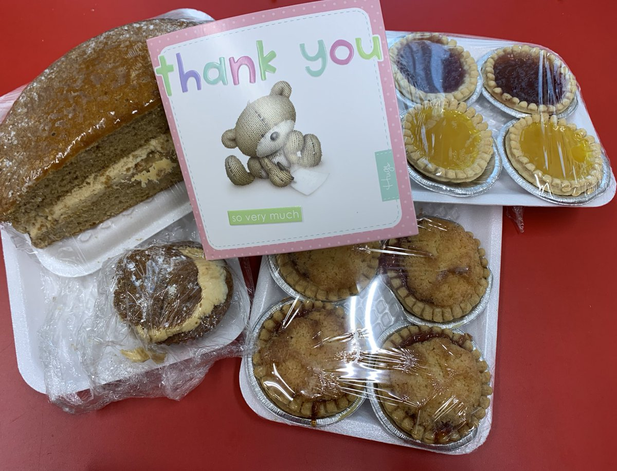 What a lovely treat from a parent for all of the staff! #thankyou so very much!!! @SpiresFed