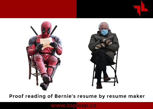 If you are struggling to find a job, we want to help by proofreading your resume for free. Our goal is to proofread the first 1,000 resumes for people who could use a hand. When we hit that goal, we'll see if we can keep going  #topleap #BernieSanders #Berniememes #berniesmittens