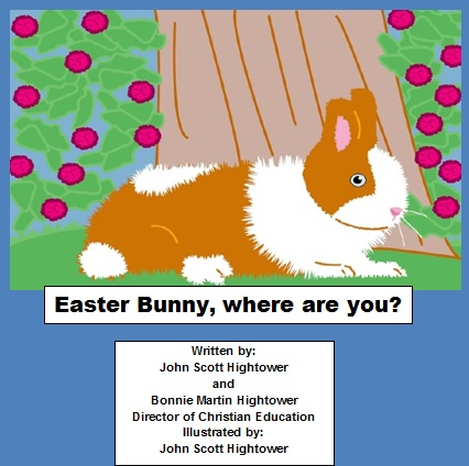 Easter Bunny, where are you?  This is the story of a little boy searching for the Easter Bunny, before he delivers his Easter goodies. #IARTG #asmsg #amreading #bookplugs #bookboost #RRBC #happyeaster #kidlit #church #ChildrensBooks   by @gladwethoughtof
