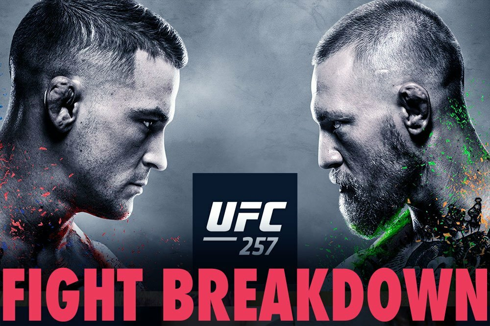 UFC 257 breakdown: It's on Dustin Poirier to make adjustments vs. Conor McGregor. Will he?   #UFCvegas14 #UFC255 #UFCFightnight #MMA #UFC https://t.co/MCC29puWtB