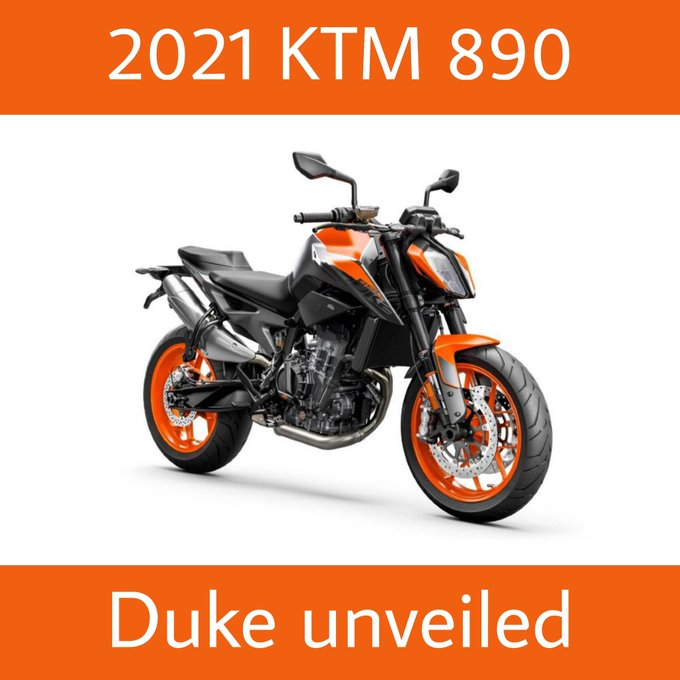 2021 KTM Duke 890 Unveiled, Expected To Launch In India By Q4 2021 Photo