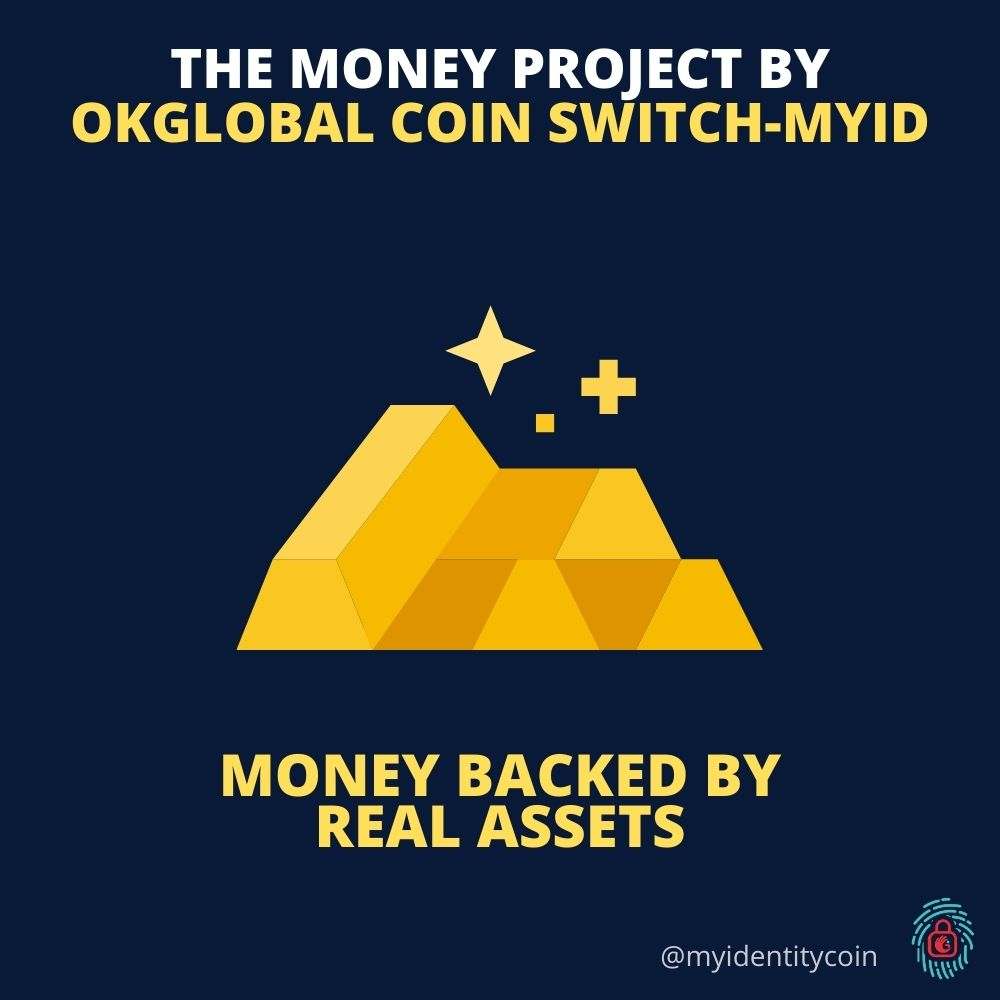 We solve real-world problems. This is 'The Money Project' By OkGlobal Coin SWITCH-MYID. . Be part of our growing project and follow @OkGlobalCoinSG