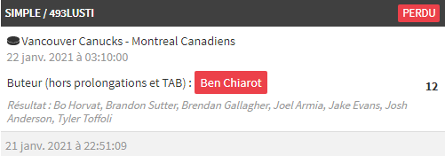 @WinamaxSport Coucou, possible de corriger et payer ce bet gagnant (source site officiel de la NHL, match qui a eu lieu cette nuit). Merci  #TeamParieur #NHL