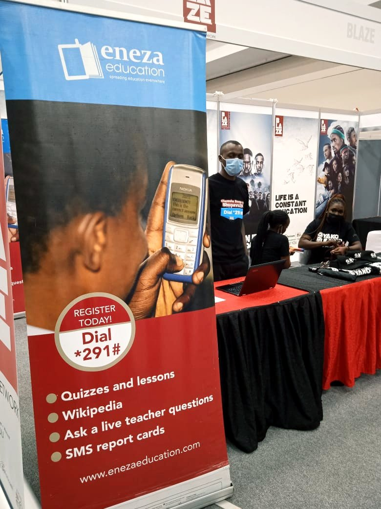 Come and interact with us at the myNetwork Education and Career Fair at the Sarit centre. #myNetworkCareer2021 #Shupavu291 #edtech #education #TechForGood